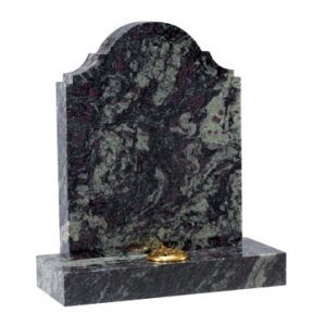 Imperial Green granite with a distinctive shape (EC11)