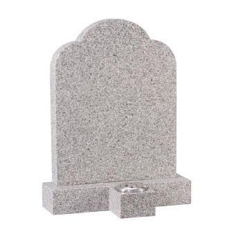Cornish granite with separate vase in front