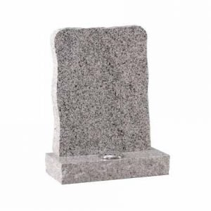 Light Grey granite with pitched edge