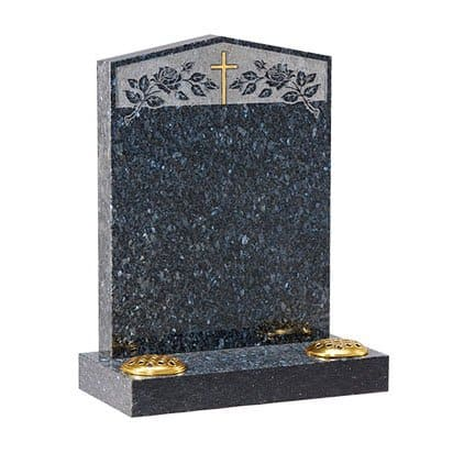 Blue Pearl granite with peon top