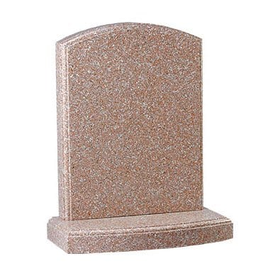 Pink granite with polished moulding