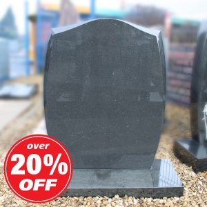 Grey Granite Anton Headstone