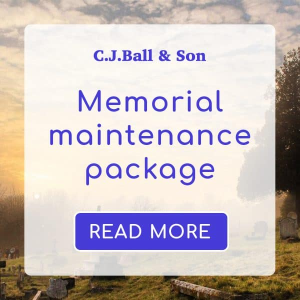Memorial Maintenance Product