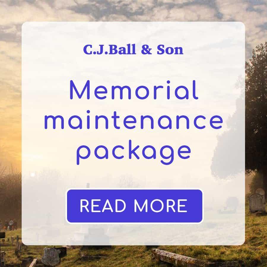 Memorial Maintenance Product
