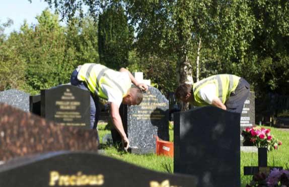 WS Moore memorial maintenance